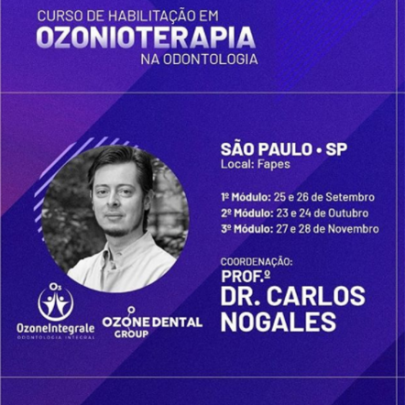 HABILITAÇÃO EM OZONIOTERAPIA- Fapes